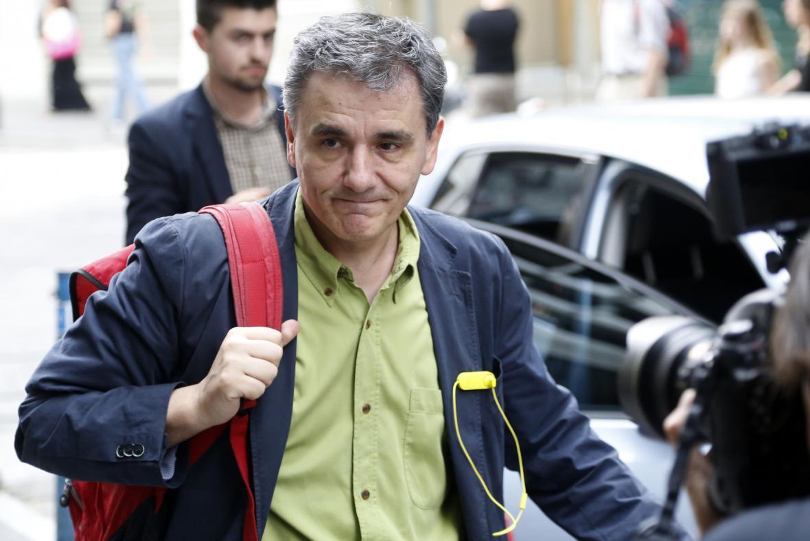 Nový řecký ministr financí Euklidis Tsakalotos