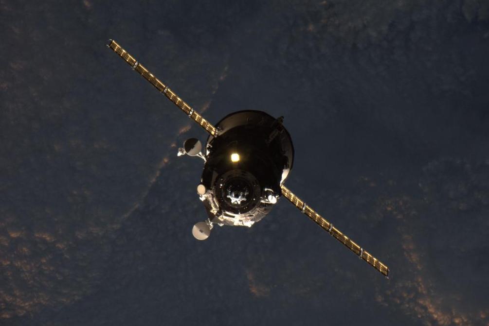 Ruská vesmírná loď Progress 60