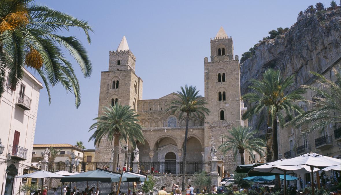 Katedrála v Cefalù