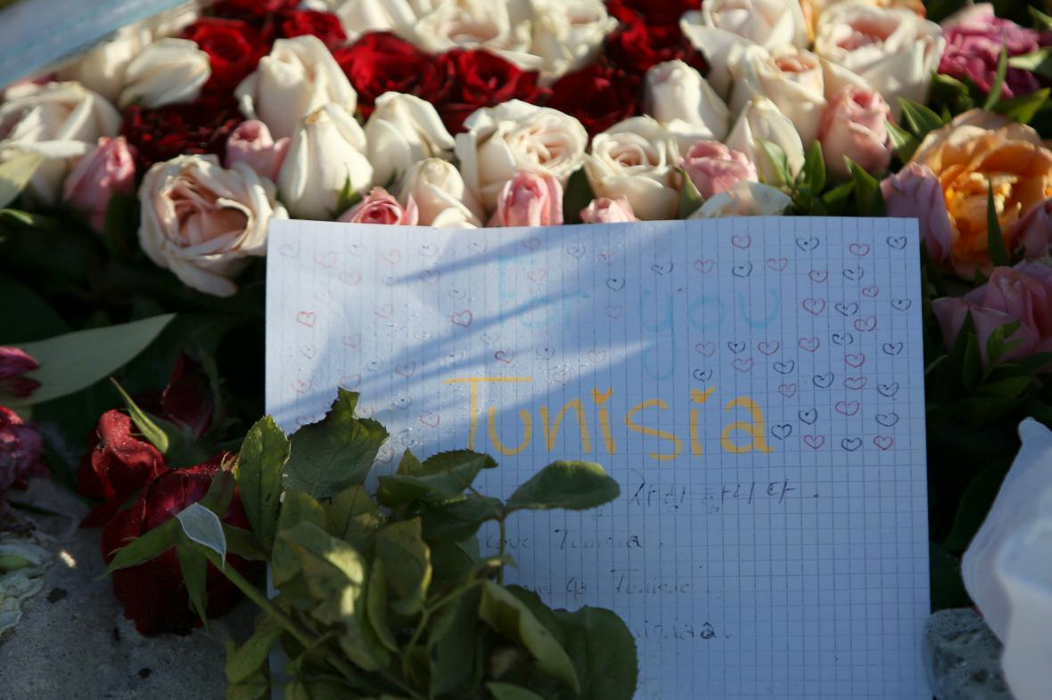 Smutek v Sousse