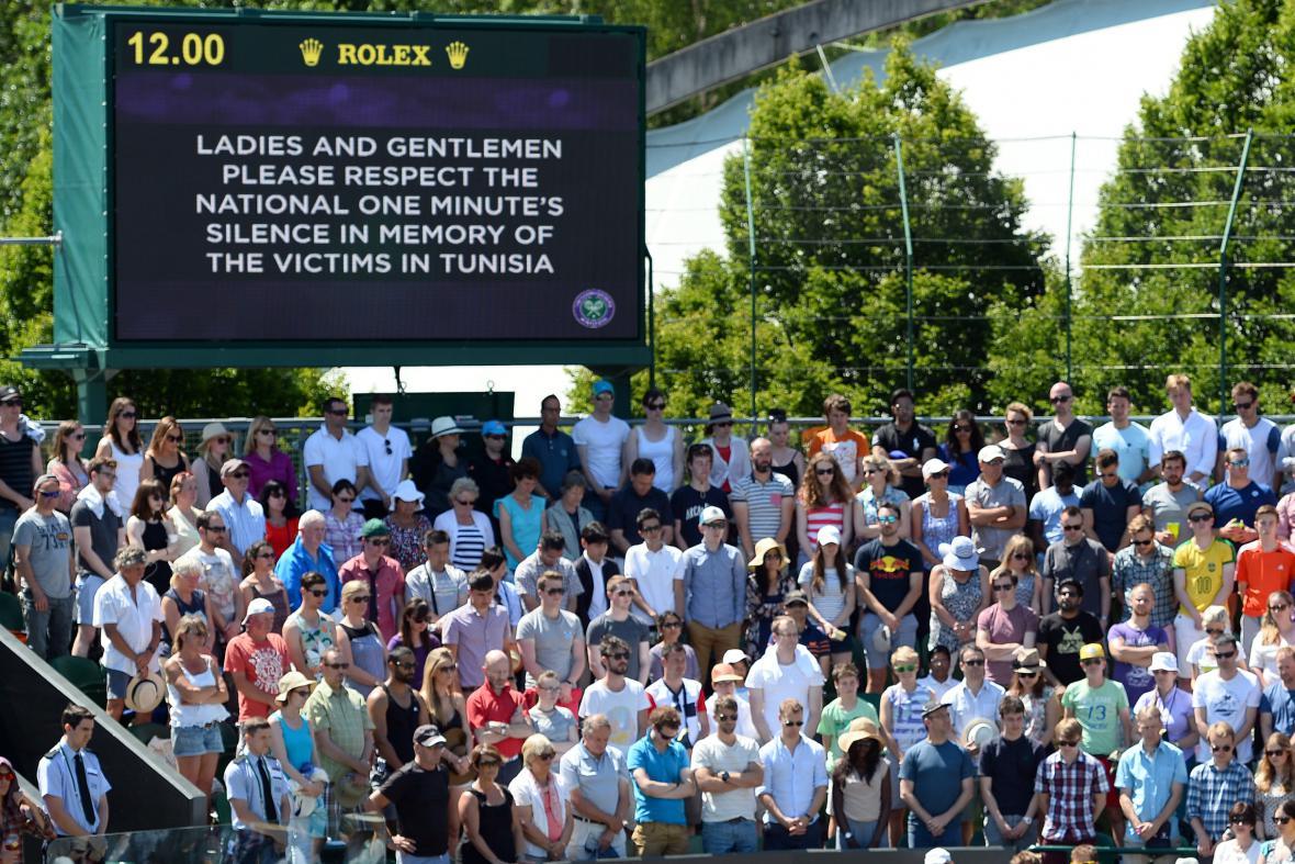 Pieta zastavila i dění ve Wimbledonu