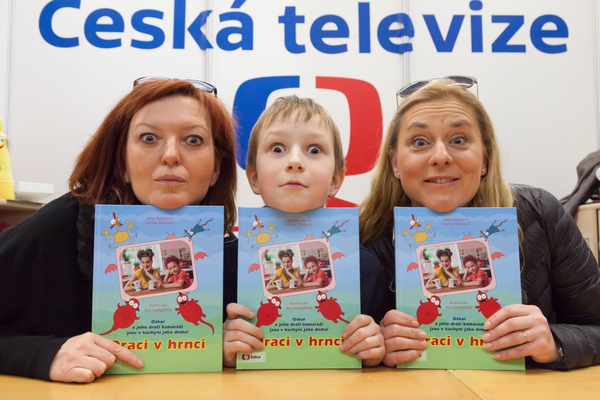 Jana Strýčková, Oskar Juchelka, Kamila Teslíková