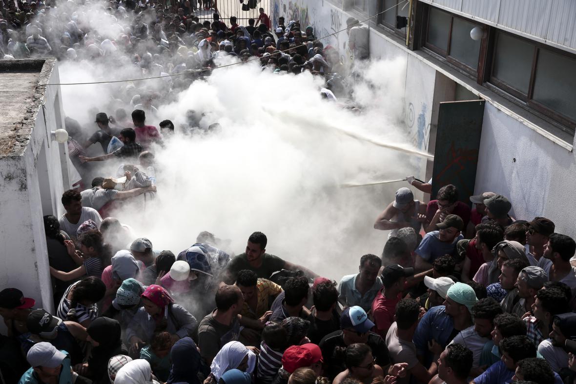 Uprchlická krize na Kosu