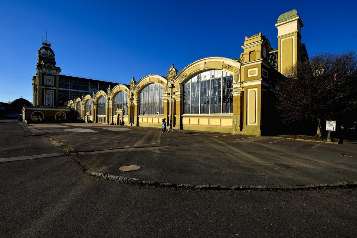 Pravé křídlo Průmyslového paláce