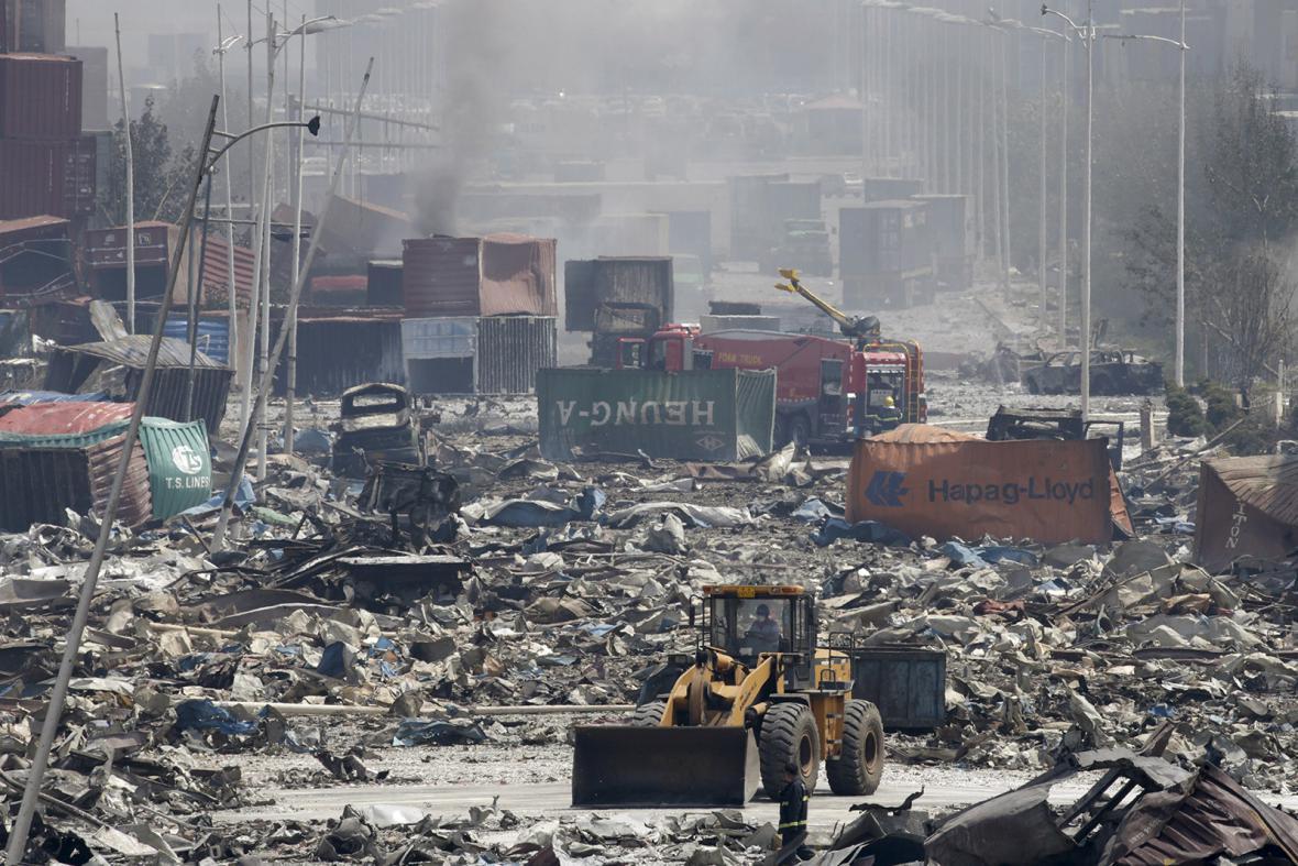 Výbuch v Tchien-ťinu