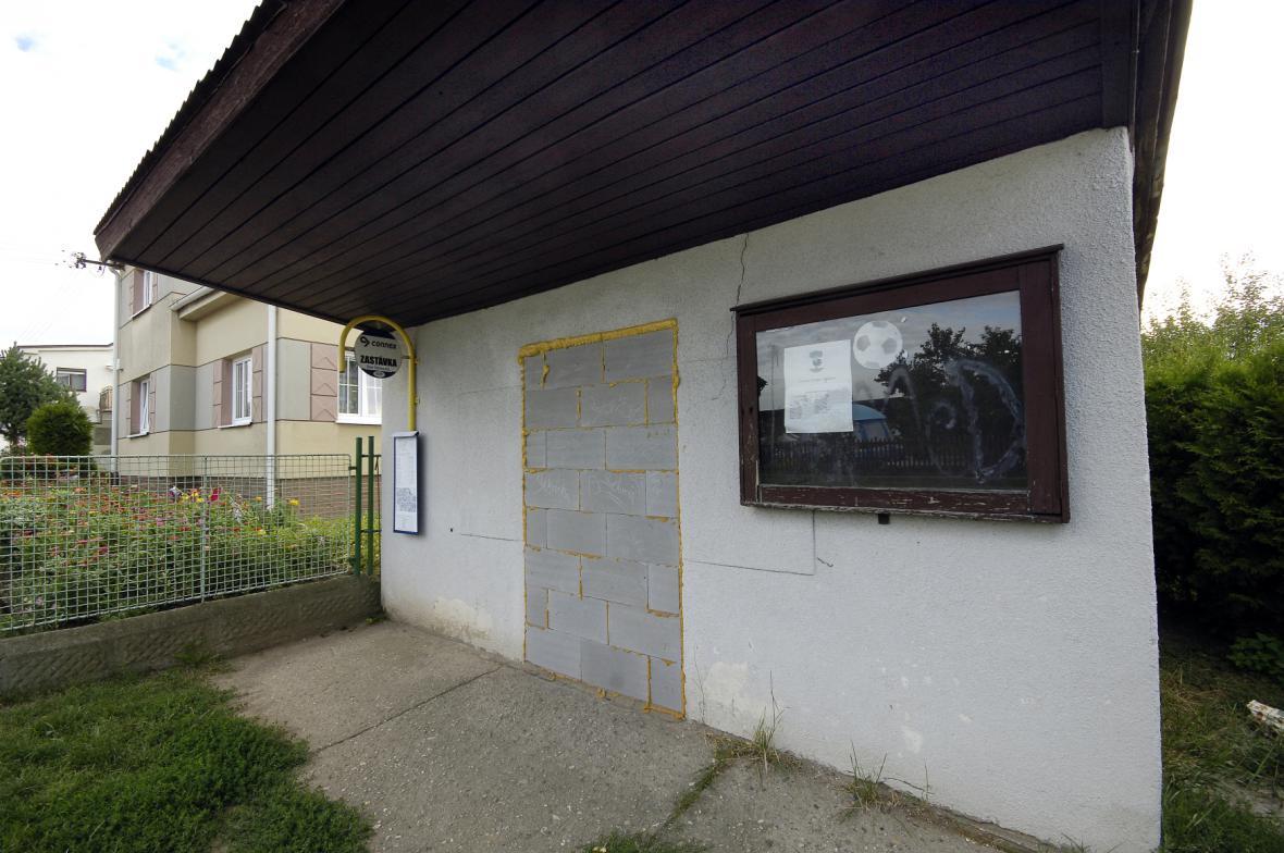 Ubytovna ve Starých Ždánicích v srpnu 2013 - archivní snímky