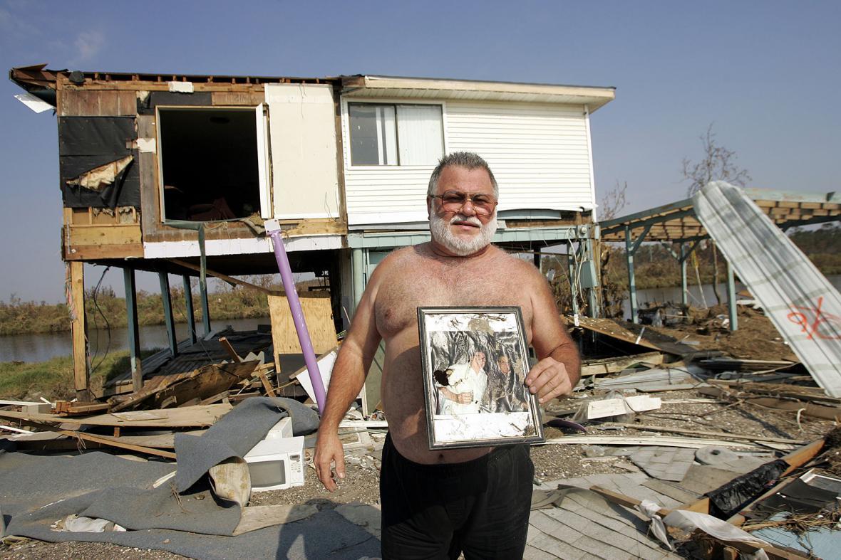 Hurikán Katrina v roce 2005