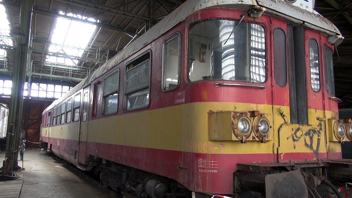 Železniční depozitář NTM v Chomutově