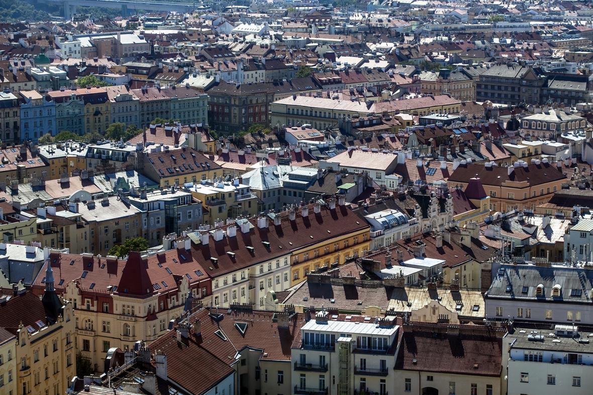 Otázky Václava Moravce v Žižkovské věži