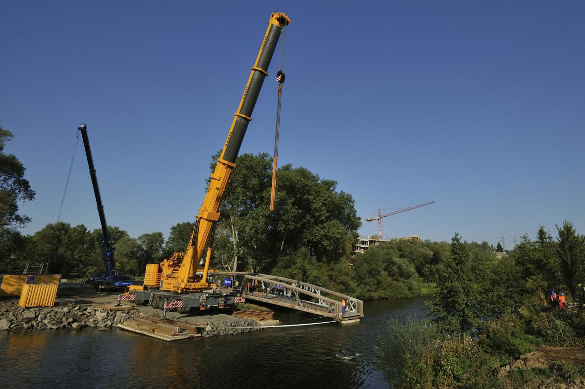 Nový most přes Ohři