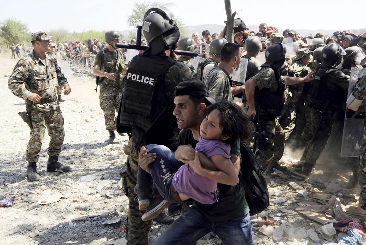 Nejvýmluvnější obrazy uprchlické vlny
