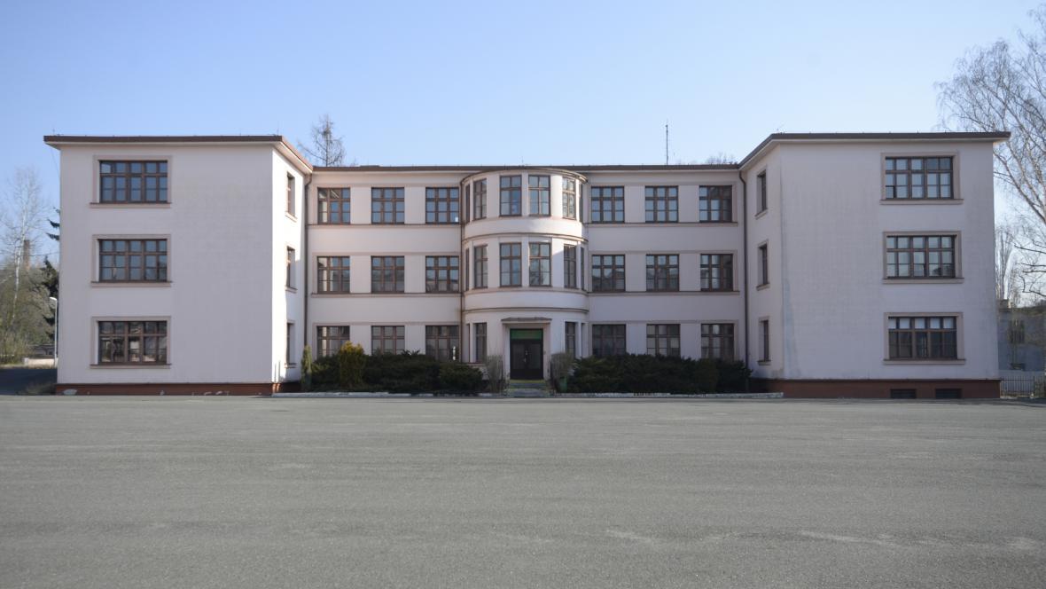 Bývalé kasárny v Rakovníku