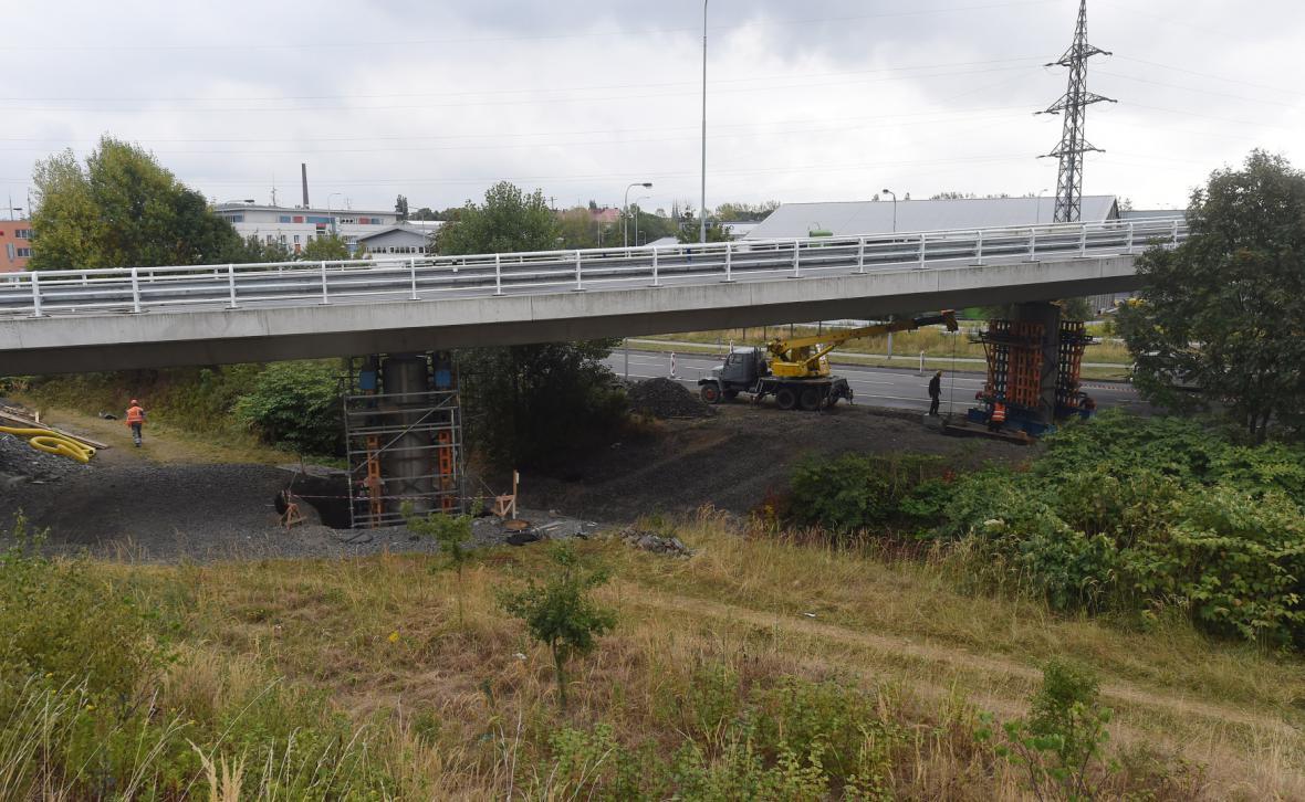 Oprava mostů na přivaděči dálnice D1 v Ostravě