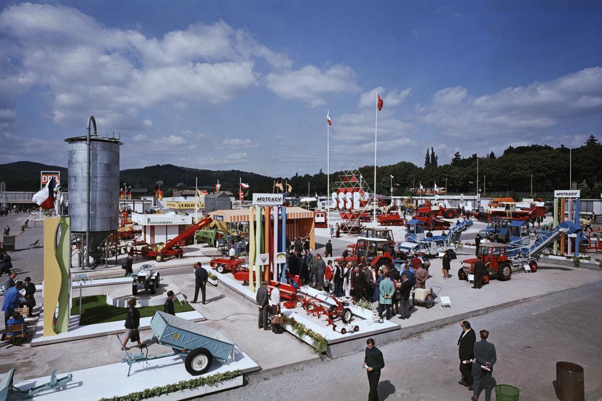Strojírenský veletrh v roce 1970