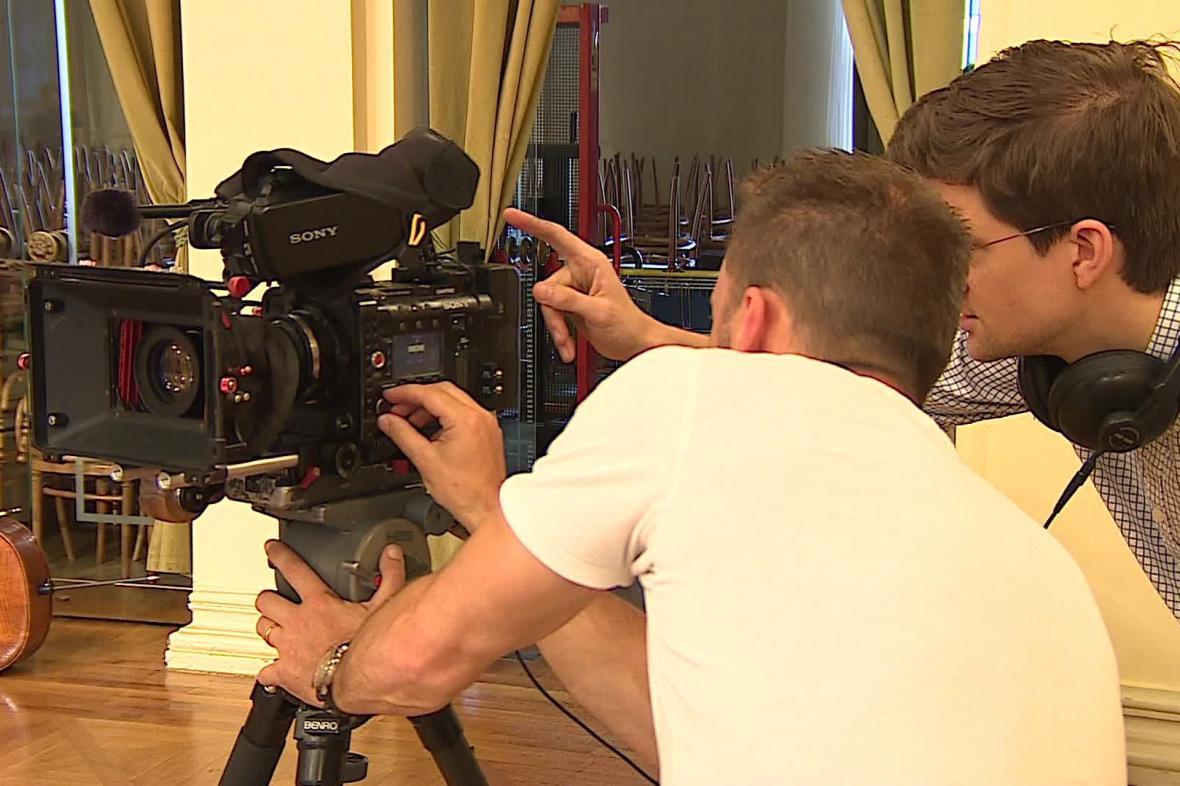 BBC natáčí s brněnskou filharmonií