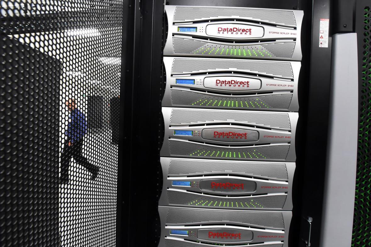 Slavnostní otevření superpočítačového centra