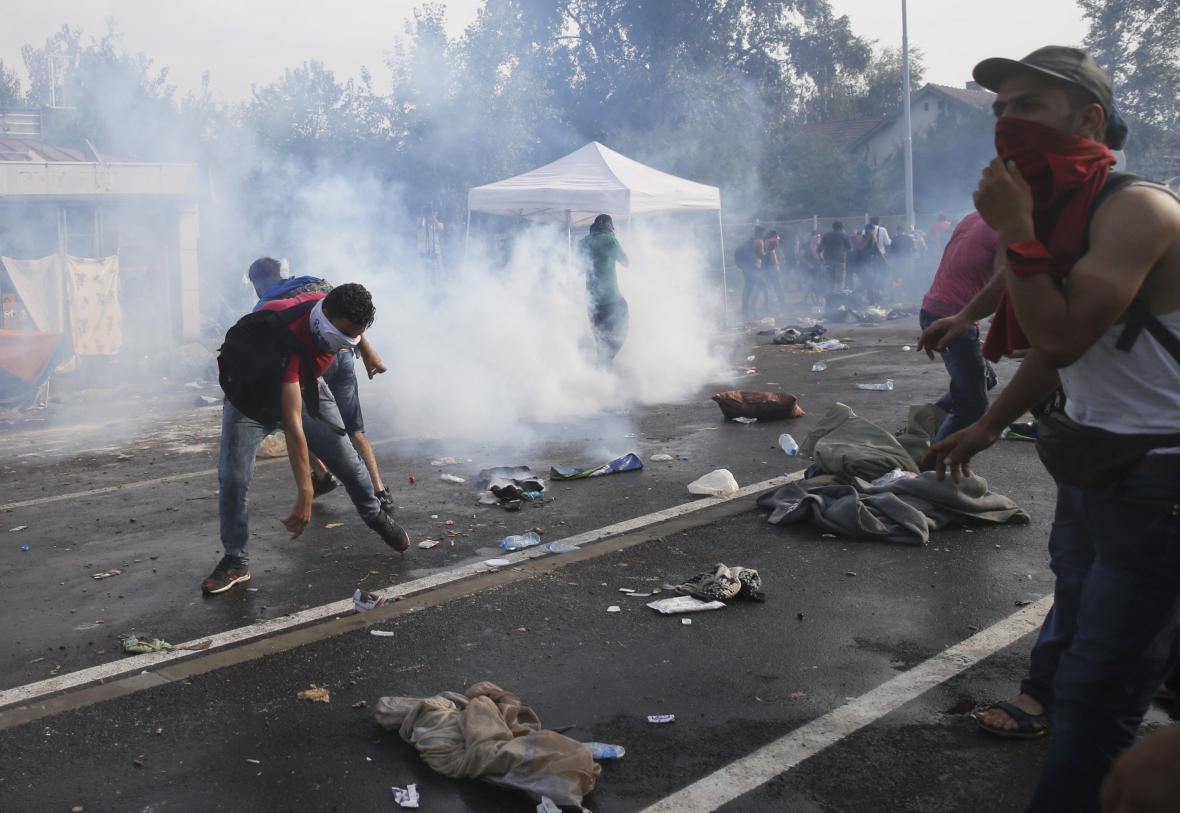 Napětí na srbsko-maďarské hranici