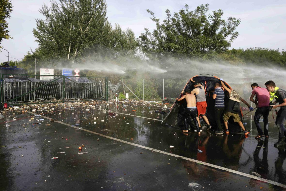 Střety na srbsko-maďarské hranici