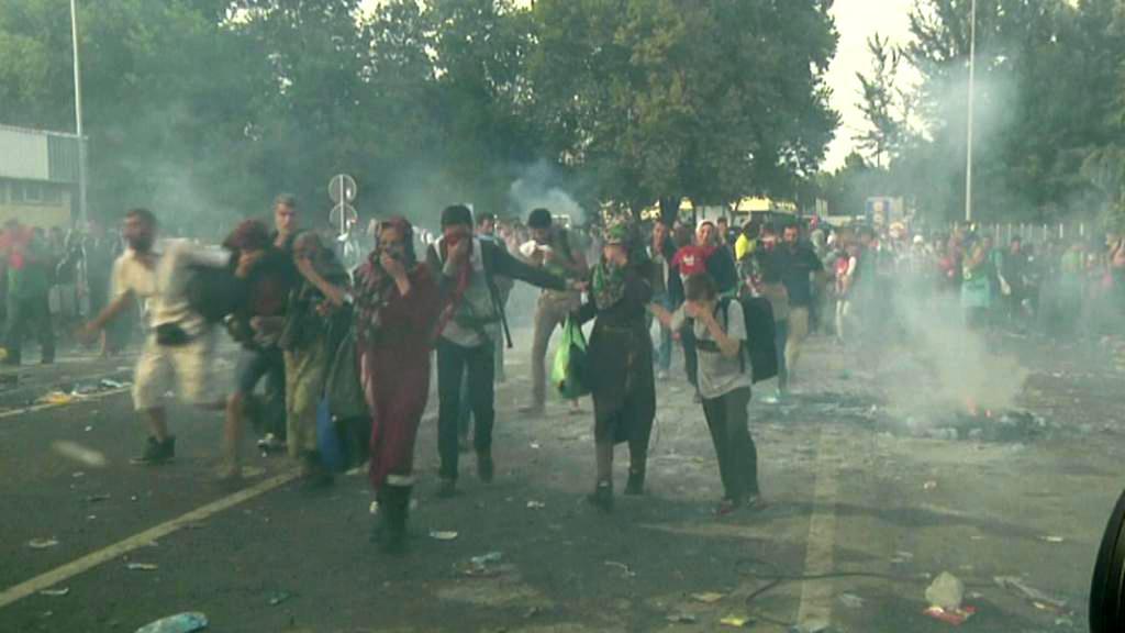 Zásah na srbsko-maďarské hranici