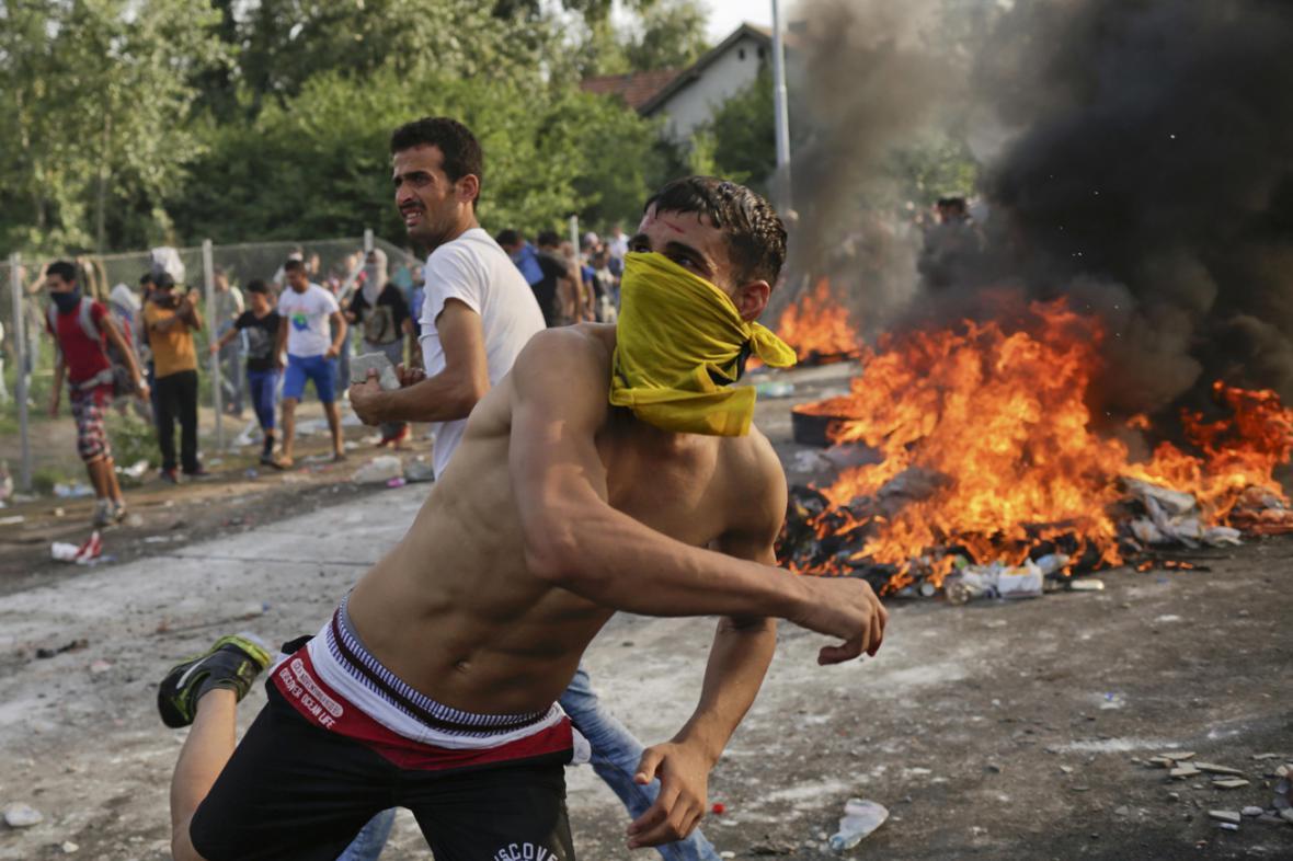 Násilnosti na srbsko-maďarské hranici