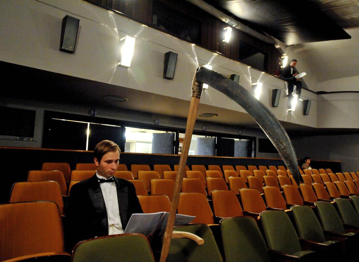Herci z brněnského divadla uspořádali happening
