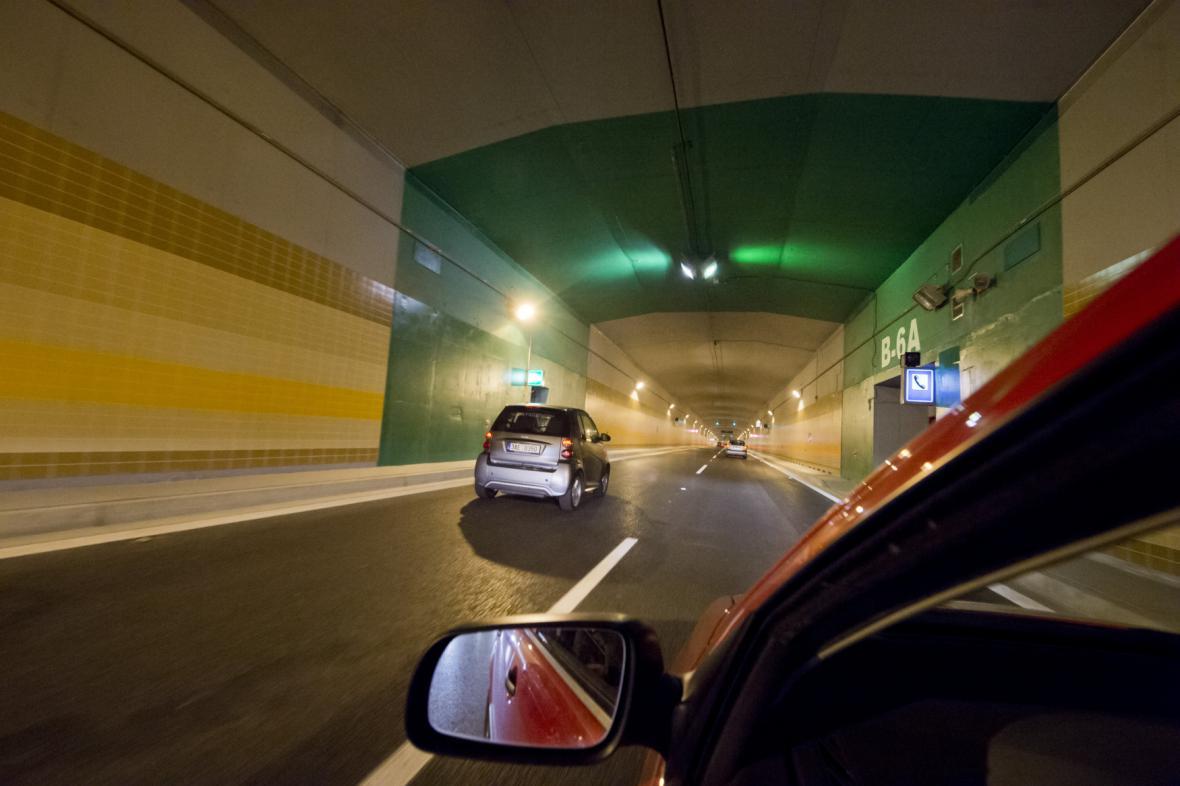 Otevření tunelového komplexu Blanka