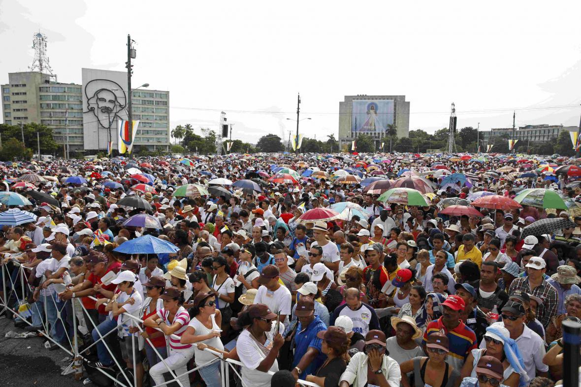 Papež František na Kubě