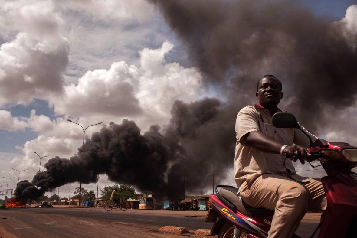 Krize v Burkině Faso