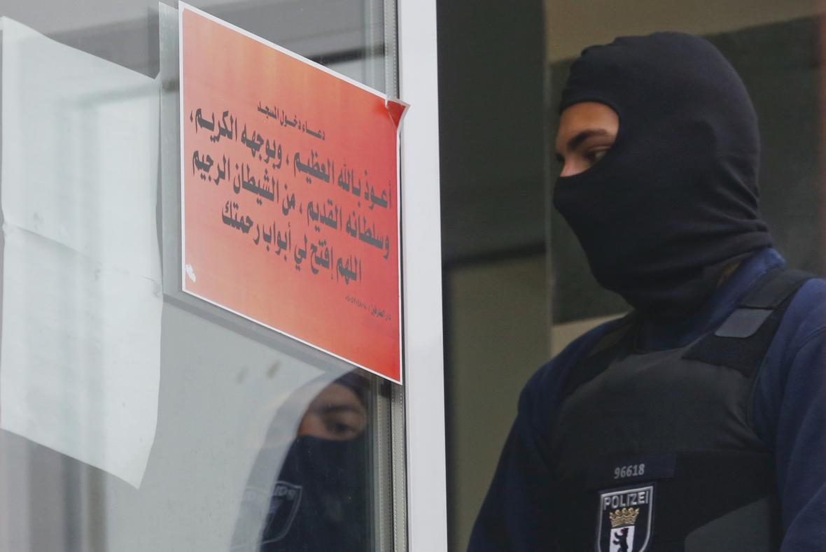 Policie provedla razii v berlínské mešitě