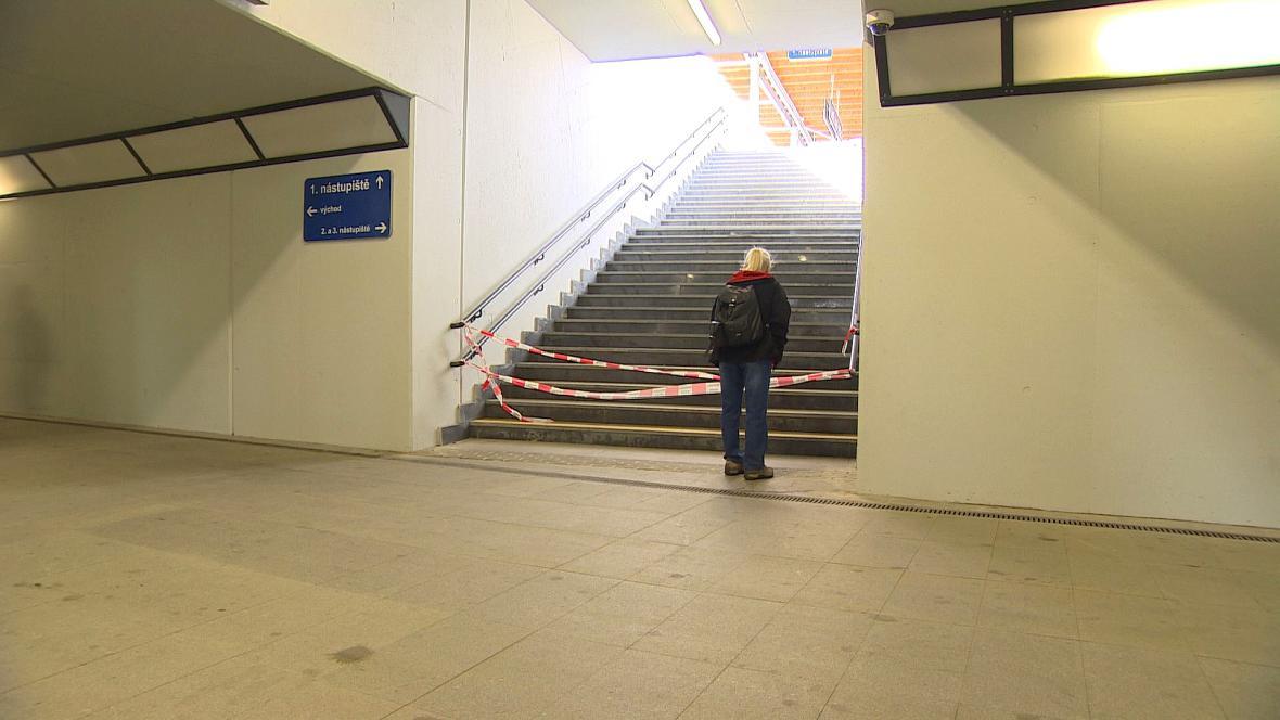 Oprava nádraží v Ústí nad Orlicí