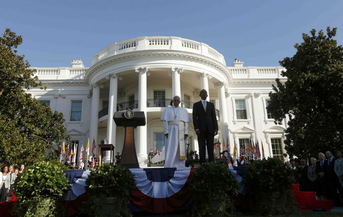 František v Bílém domě
