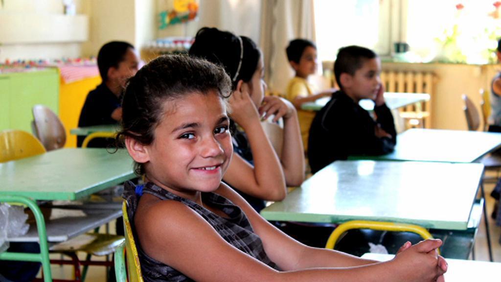 Romské děti ve škole
