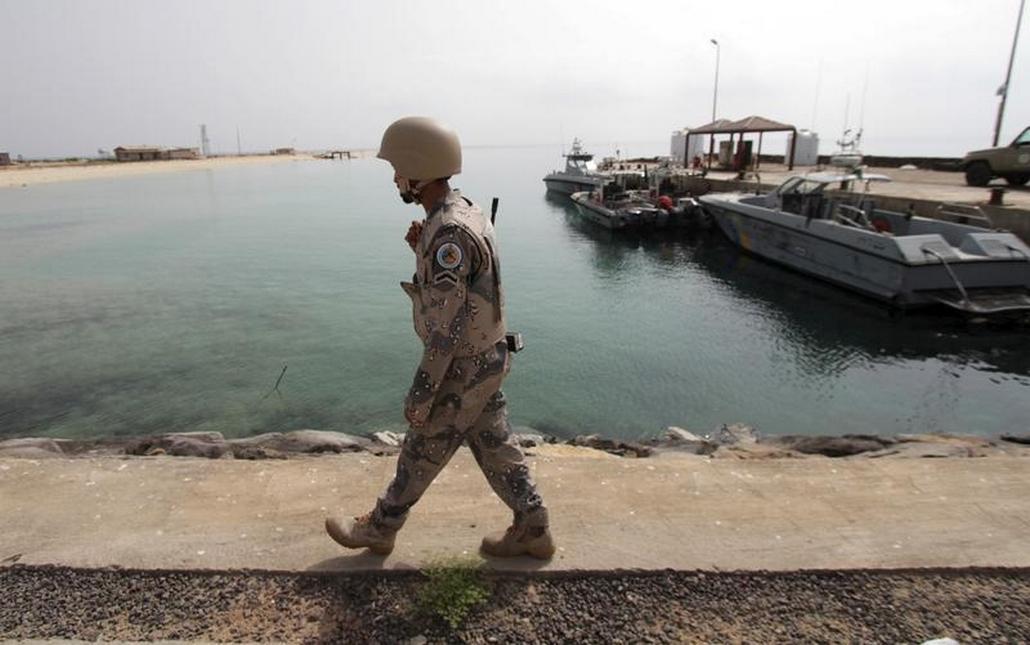 Hlídky u jemenského pobřeží