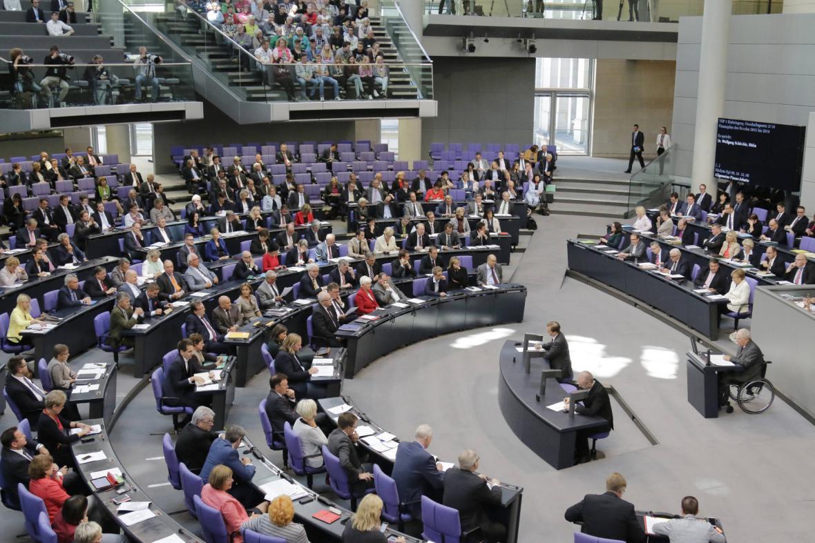 jednání ve Spolkovém sněmu
