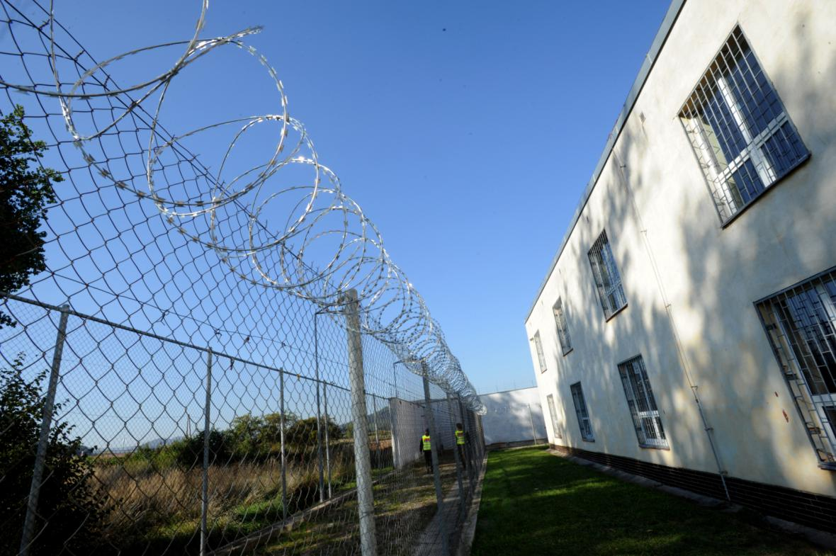 Detenční zařízení v Drahonících