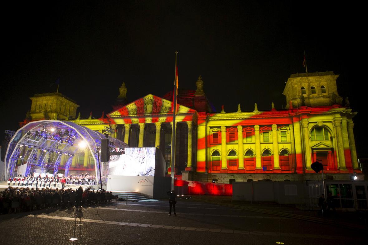 Koncert k 25. výročí sjednocení Německa