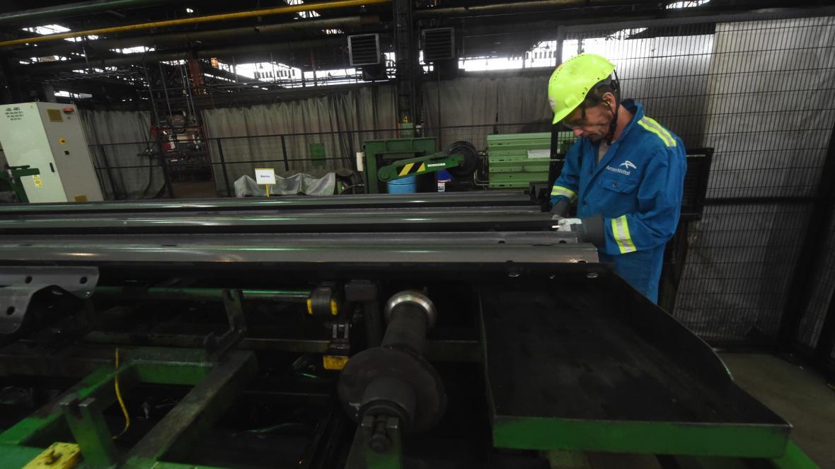 Ostravská ocelárna ArcelorMittal