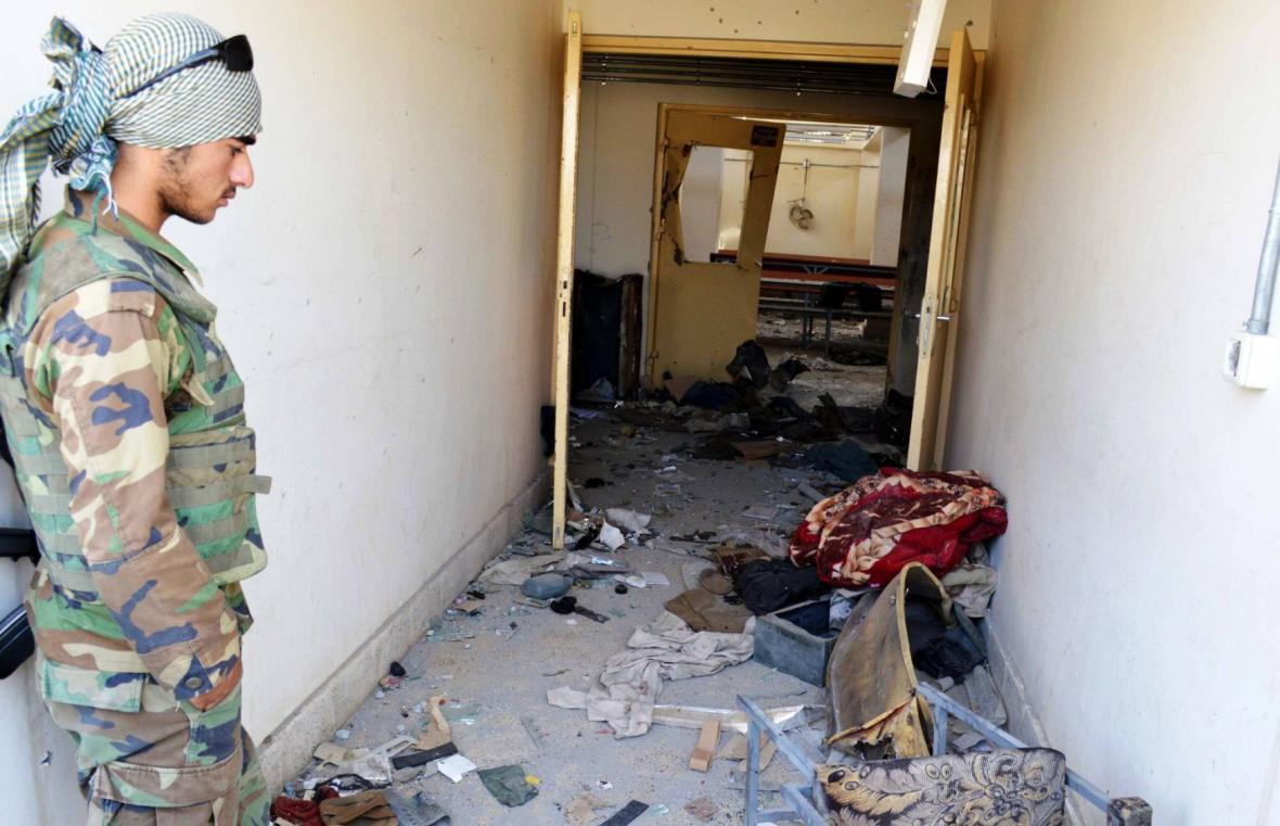 Následky útoku na nemocnici v Kunduzu