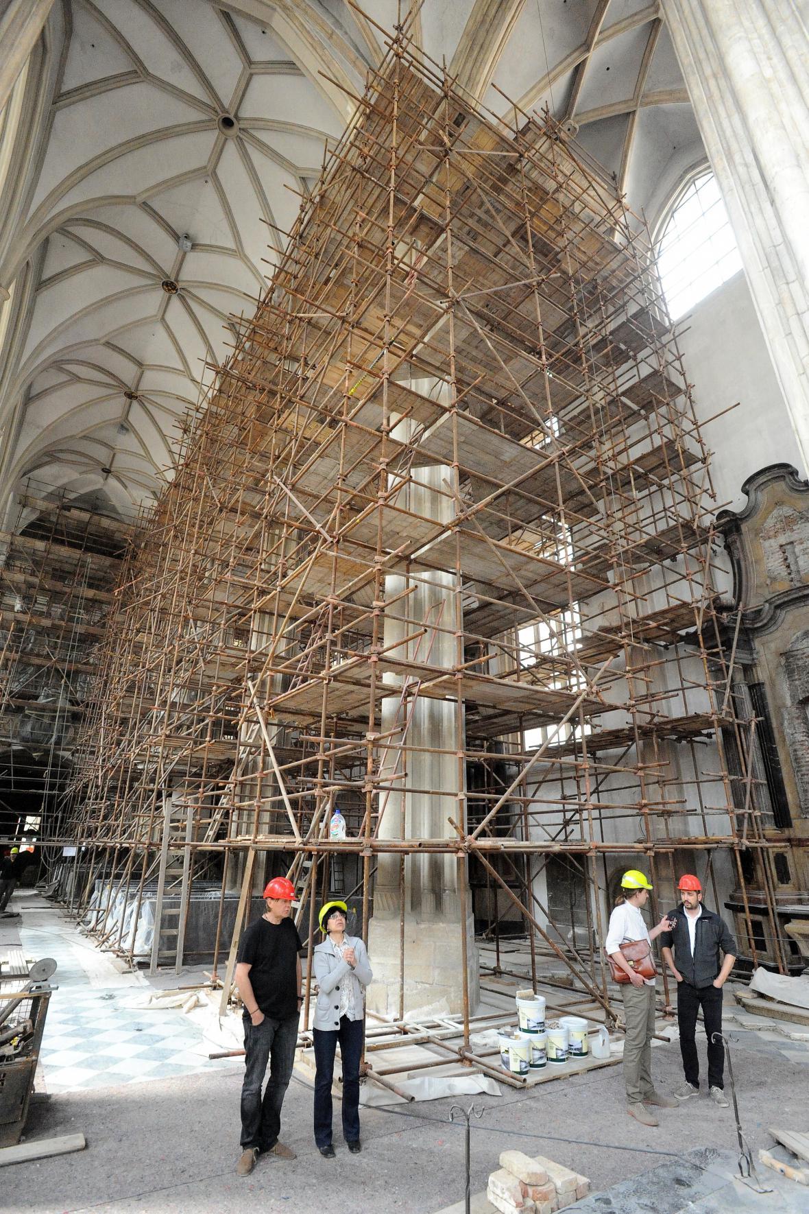 Rekonstrukce Kostela svatého Jakuba v Brně