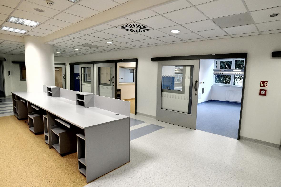 Pavilon intenzivní medicíny Fakultní nemocnice u sv. Anny