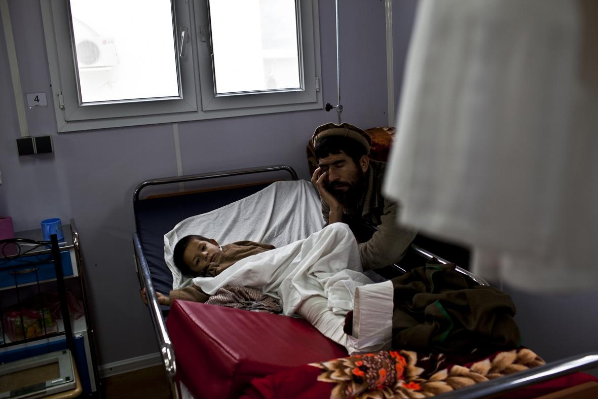 Nemocnice Lékařů bez hranic v afghánském Kunduzu