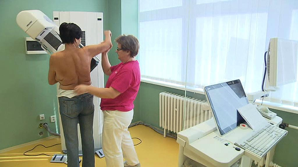 Vyšetření na rakovinu prsu
