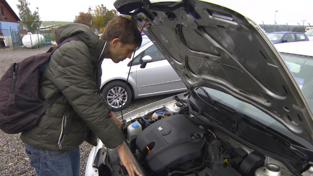 Kontrola auta v autobazaru
