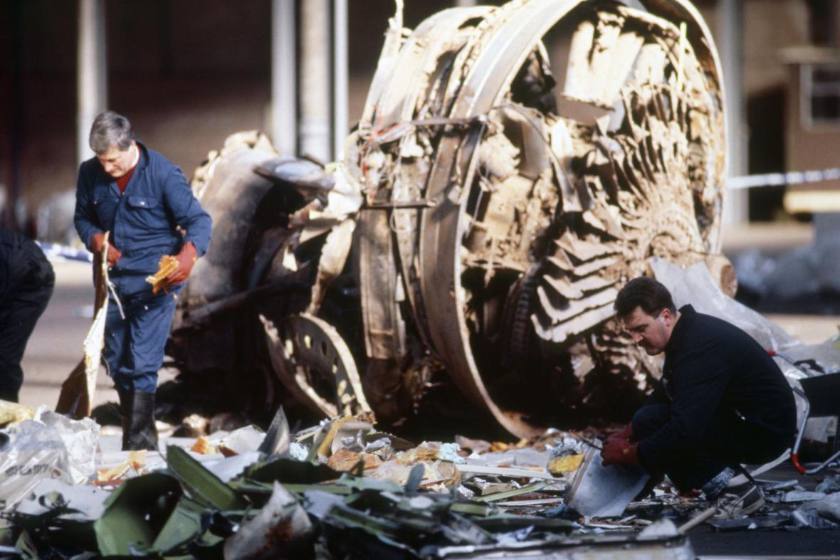 Tragédie nad skotským Lockerbie