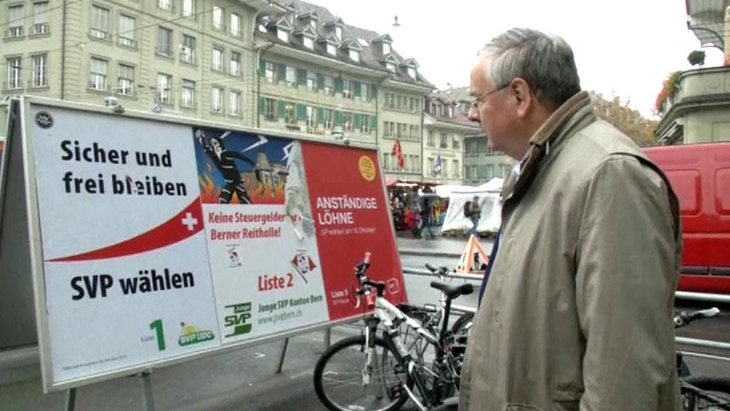 Předvolební kampaň ve Švýcarsku