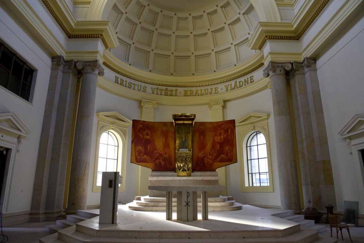 Končí rekonstrukce katedrály Božského spasitele v Ostravě