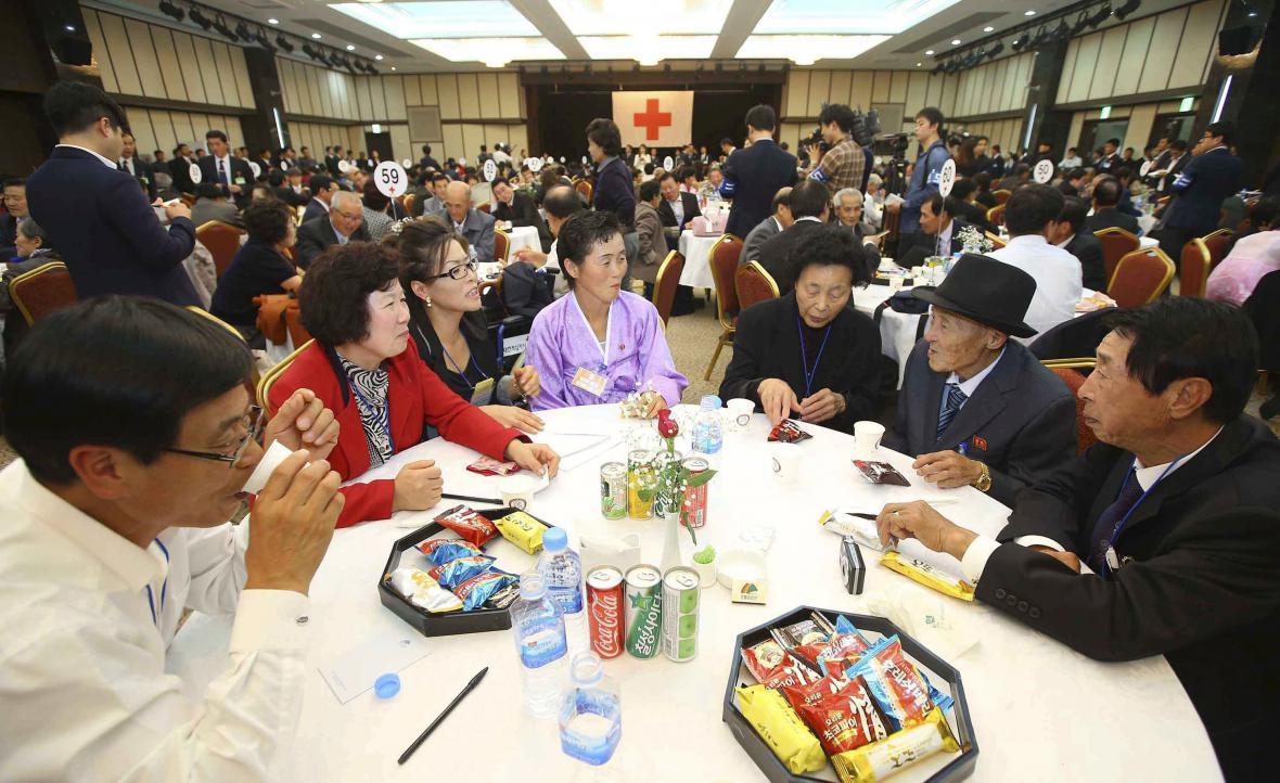 Setkání korejských rodin