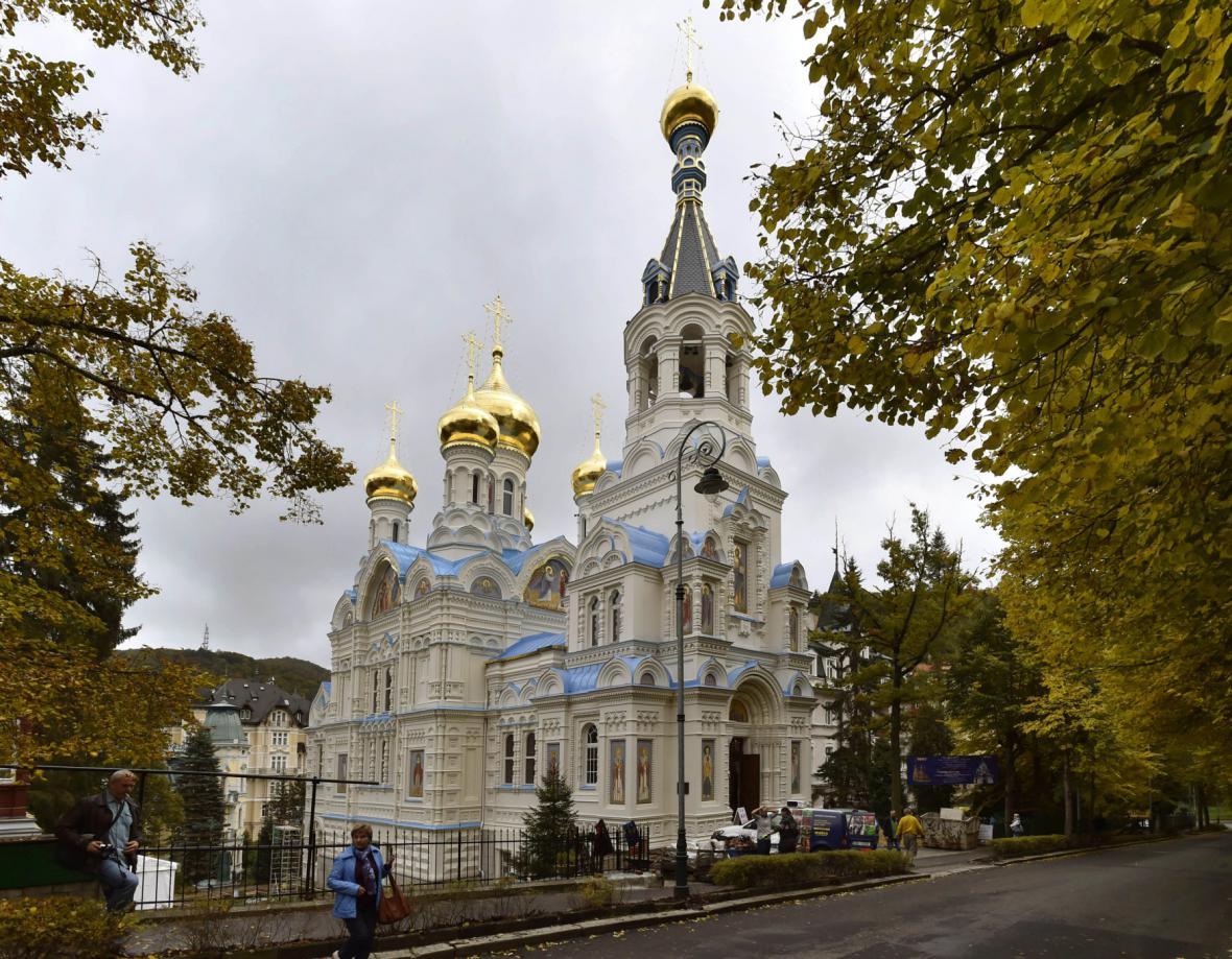 Pravoslavný chrám sv. Petra a Pavla