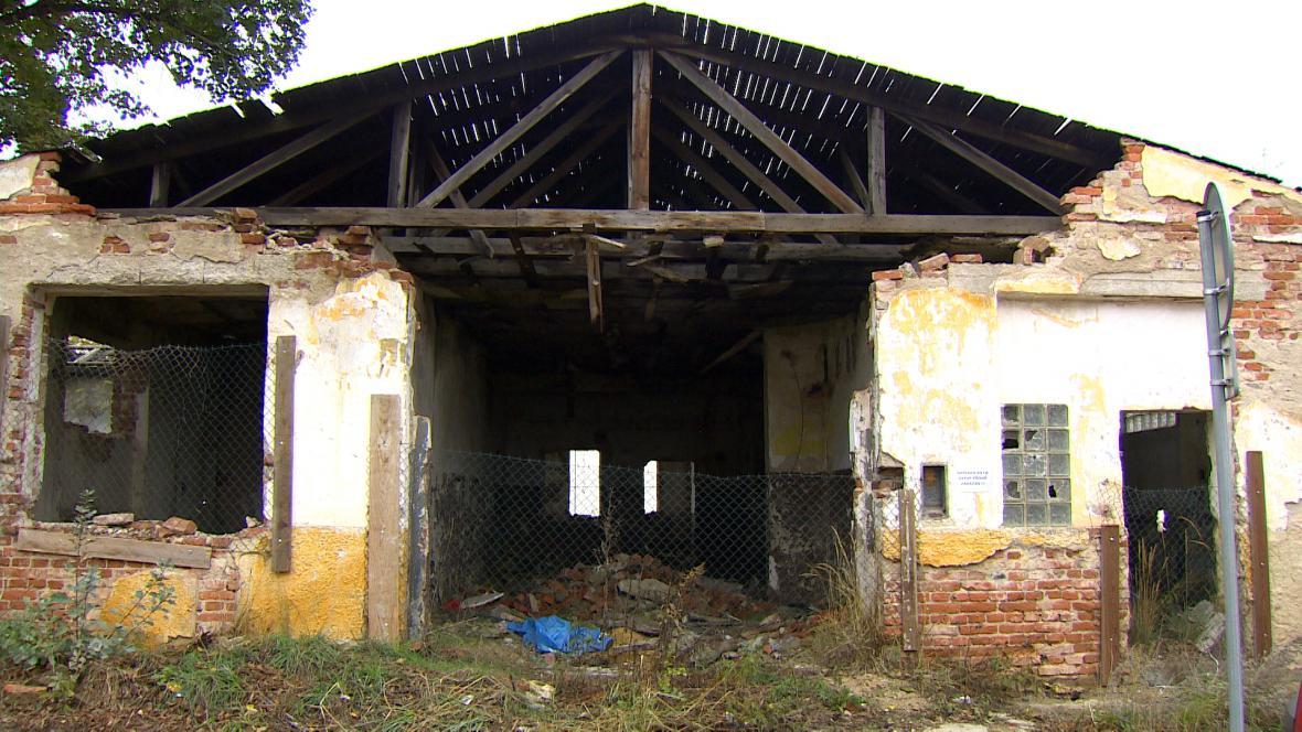 Areál bývalých Žižkových kasáren v Písku