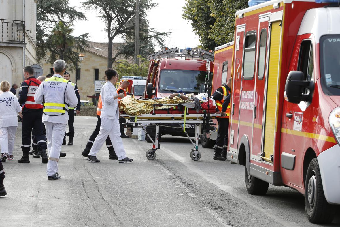 Převoz zraněných